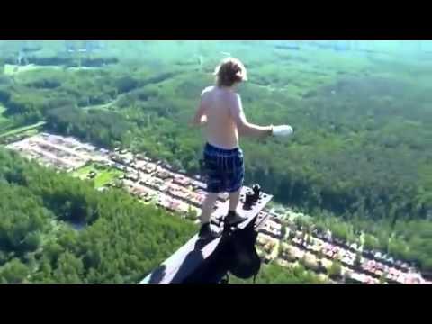 yükseklik korkusu olmayan adam