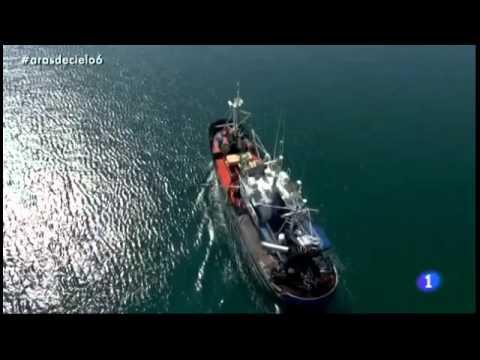 A ras de cielo, Hondarribia, Pais Vasco (Euskadi) la mar, pesca tradicional