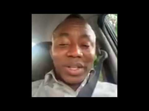 LIVE: Omoyele Sowore Arrives Athens Greece for Conference #Takeitback