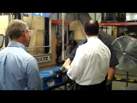 Wisconsin Governor Walker visits Thermal Spray Technologies, Inc.