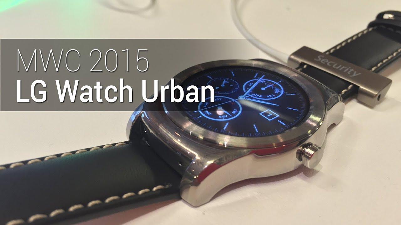 MWC 2015: LG Watch Urban