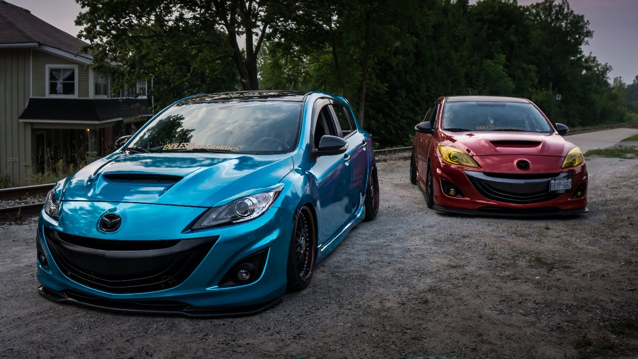 Partners In Crime Bagged And Static Mazdaspeed 3s Youtube