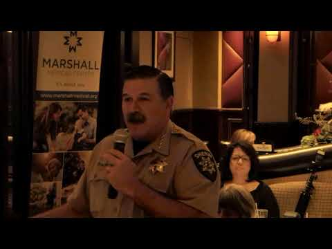 Sheriff John D'Agostini Speaks to the El Dorado County Chamber of Commerce on November 8, 2017