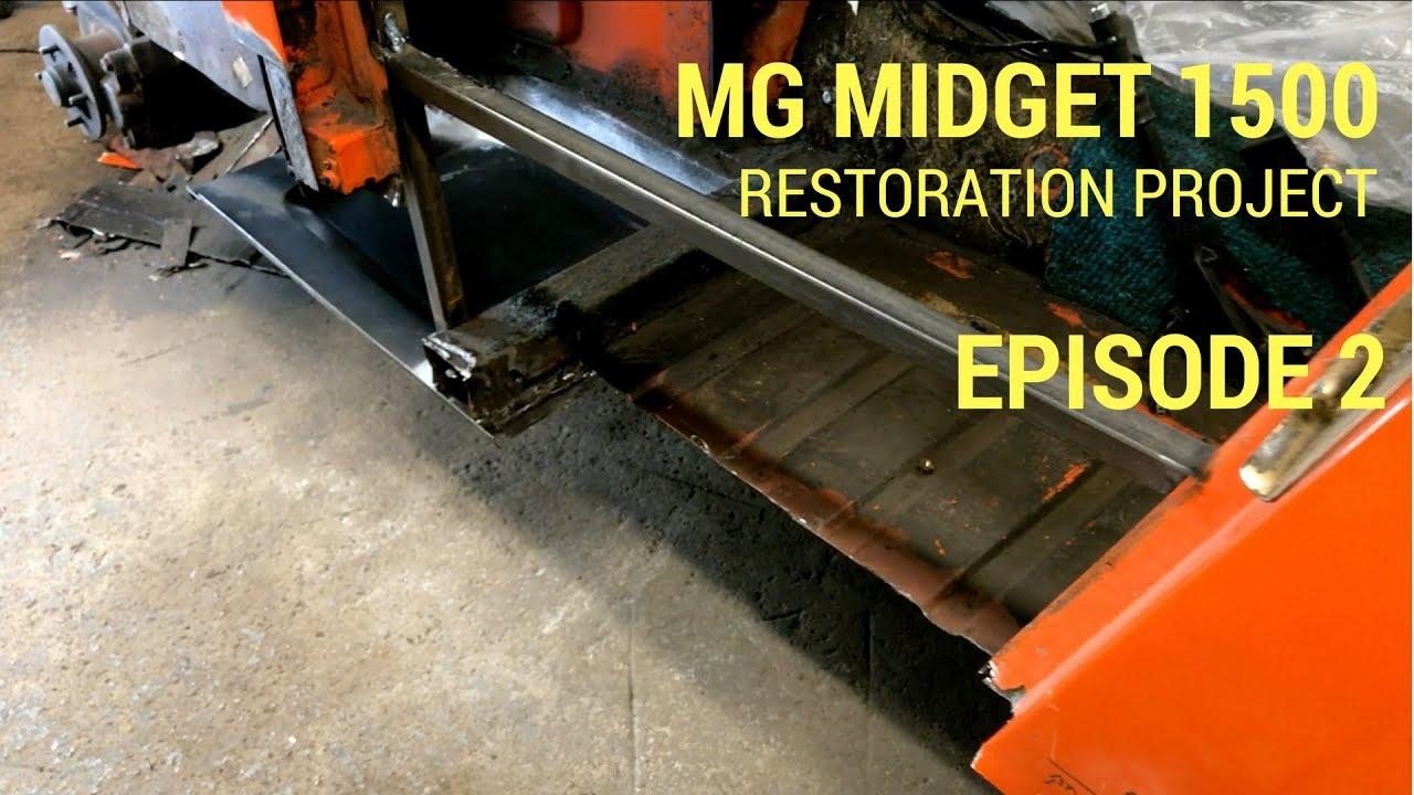 mg midget 1500 restoration