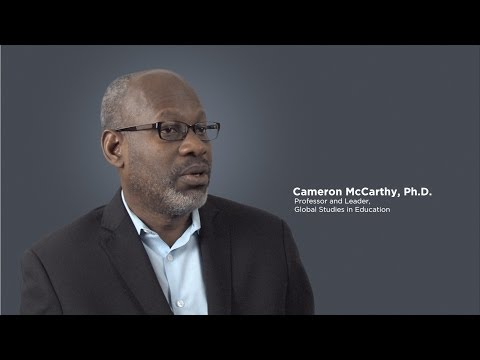 Cameron McCarthy, Faculty Member, College of Education at Illinois