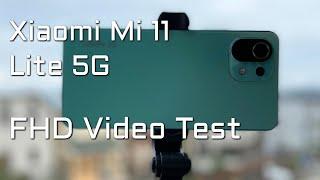 Xiaomi Mi 11 Lite 5G FHD 1080p 60 FPS EIS Camera Video Test Amazing Result!   Kamera Video Test