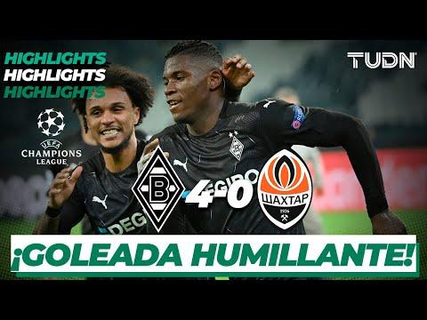 Highlights | Monchengladbach 4-0 Shaktar | Champions League 2020/21-J4 | TUDN