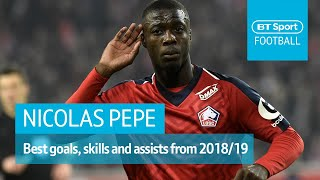 Nicolas Pepe - The next Premier League star? | Insane goals, skills, and assists 2018/19