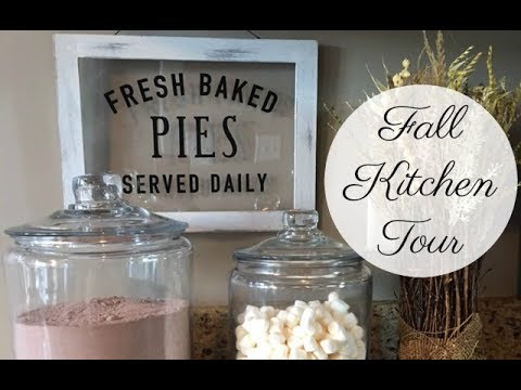 FALL KITCHEN TOUR - 2017