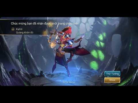 Đổi trang phục Kahlii Quàng Khăn Đỏ!!!!