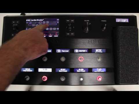 Line 6 Helix 2.0 Snapshots Overview