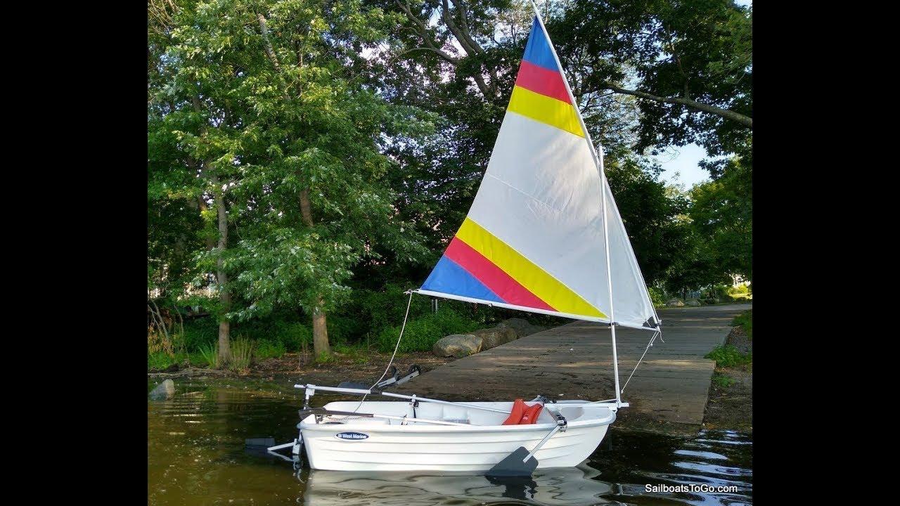 Sailboats To Go » Catalog » Inflatable Dinghy Sailing Rig