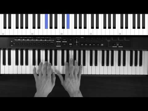 Piano Tutorial - Alive by Hillsong Young & Free