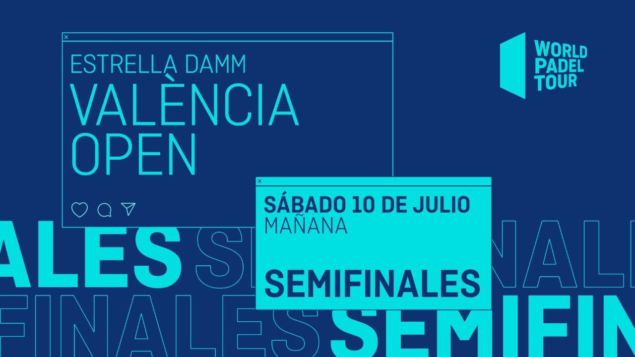 Download Semifinales Mañana - Estrella Damm València Open 2021 - World Padel Tour