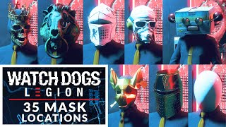 Watch Dogs: Legion 35 Masks found in London
