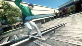 Skate 3 official video game demo trailer on Xbox and PS3