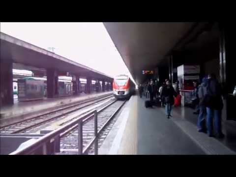 Buying ticket from termini train station to fiumicino airport Rome Italy