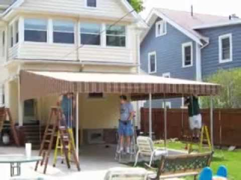 Patio Awnings Cleveland Ohio: Cleveland Ohio Patio Awning Expert Talk About  Your New Awning   YouTube