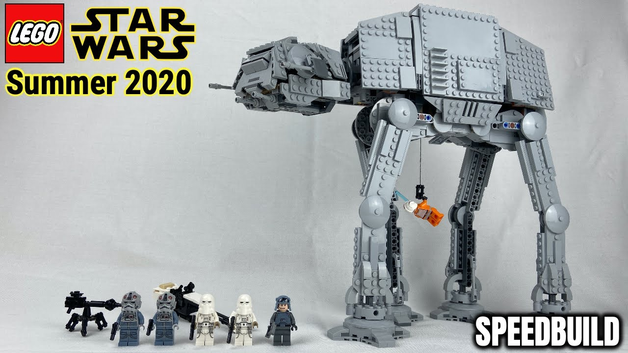 "LEGO Star Wars 2020 ""AT - AT Walker"" Speed Build & Review! 