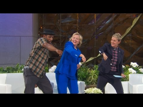 Watch Hillary Clinton Whip, Watch Her Nae Nae