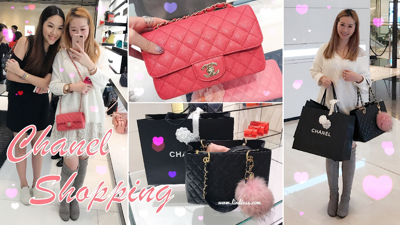 34b98aa8bf11 VLOG - CHANEL SHOPPING IN HONG KONG - GIRLY DATE 👭 WITH ANGELBIRDBB ♥ -  YouTube