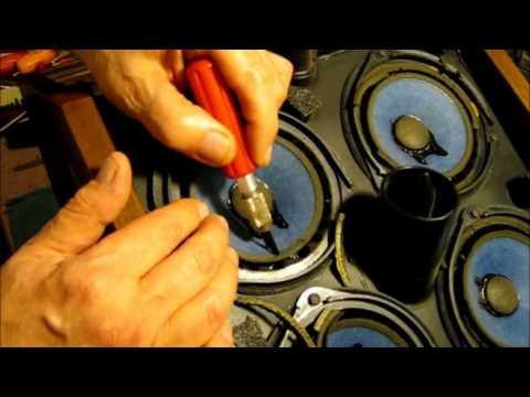 Bose 901 Series 3 Repair And Refoaming