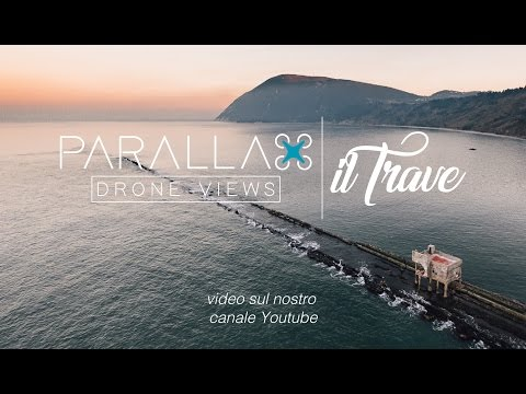 Ancona, il trave - Parallax Drone Views