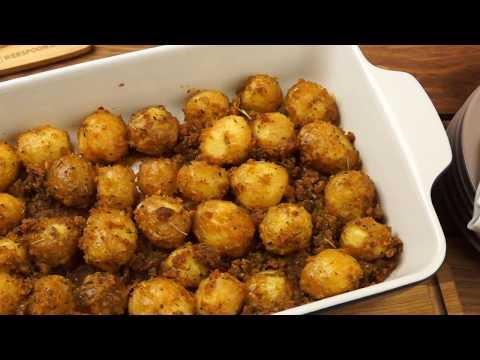Молодой картофель в сухарях в духовке - рецепт от webspoon.ru
