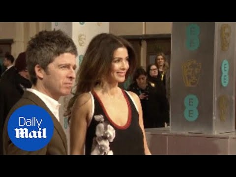 Noel Gallagher And Sara Macdonald At BAFTA's In February - Daily Mail