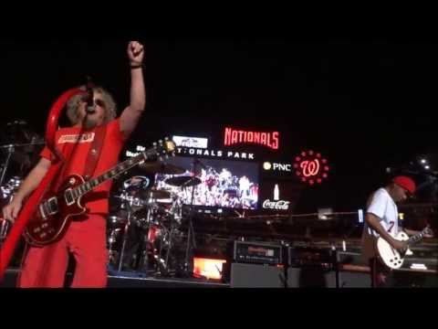 Sammy Hagar 55/One Way/Fall In Love/Red/3 Lock Box/Right Now/Can't This Be Love 8/29/13