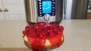 6-inch Cheesecake - Instant Pot Ultra Mini (3qt Pressure Cooker) - COOKING WITH DOUG