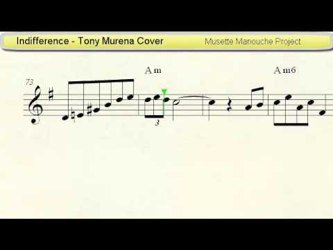 Indifference Tony Murena Cover Accordion Sheet Music Youtube