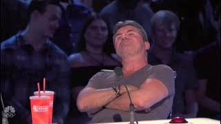 Simon Cowell Is In A Really BAD MOOD Buzzing Off Great Acts America S Got Talent 2017