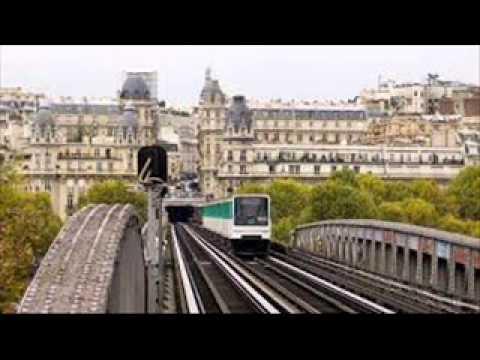 Paris Metro - Views Of The Paris Metro In Paris France