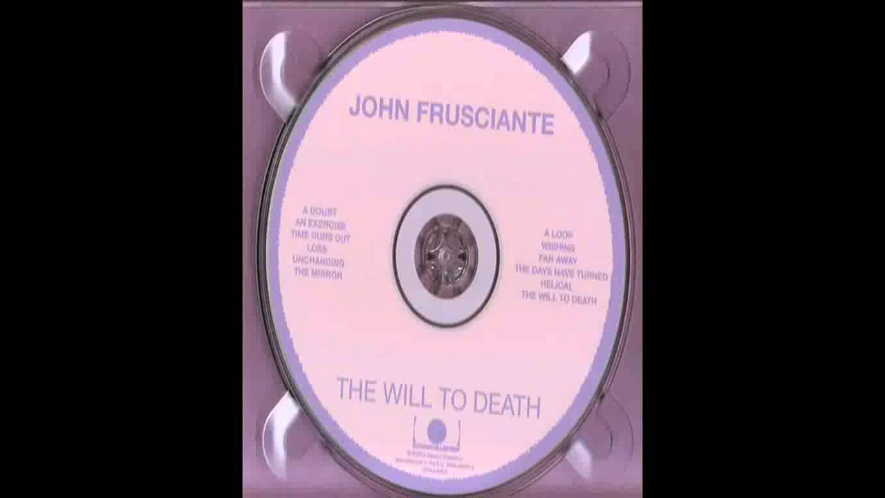 John Frusciante The Days Have Turned With S Hd