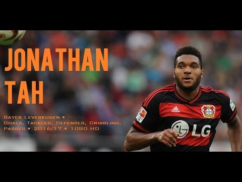 JONATHAN TAH ● Bayer Leverkusen ● Goals, Tackles, Defenses, Dribbling, Passes ● 2016/17 ● 1080 HD