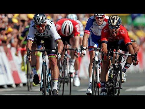 Fransa Bisiklet Turu'nda sarı mayo 2'inci etap lideri Peter Sagan'a geçti