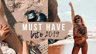 MUST HAVE LATO 2019 - dla każdej dziewczyny - Te kosmetyki i ubrania MUSISZ MIEĆ! | CheersMyHeels