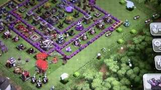 clash of clans j ai piller 150000 de chaque avec dragons et mongolfieres!!#1