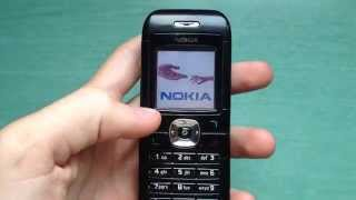 Nokia 6030 retro review (old ringtones, wallpapers & games). old mobile phone