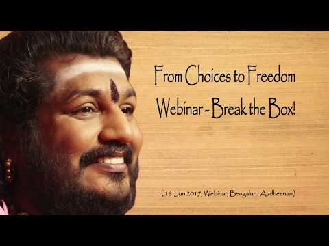 From Choices to Freedom! Breaking the Box is Creativity; Knowing the Box is a Hoax is Freedom!