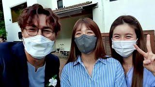 [비하인드] 결혼식 축가 에이핑크 정은지가 극찬한 MC는 누구~? (feat. 조은유) 부끄럽습니다ㅠㅠ