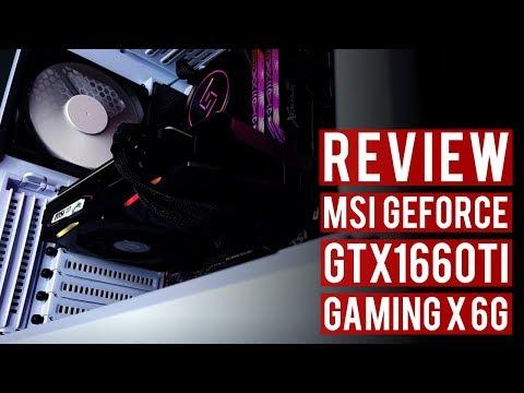 Premium GTX1660Ti RGB - Review MSI GEFORCE GTX1660TI Gaming X 6G #MSI #NVIDIA #GeForce
