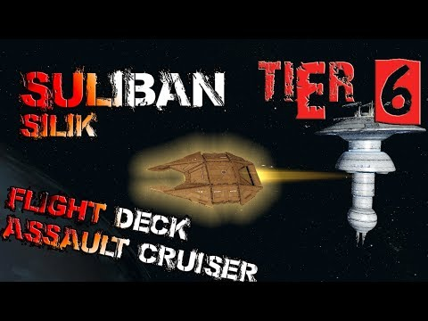 Suliban Silik Flight Deck Assault Cruiser [T6] – with all ship visuals - Star Trek Online