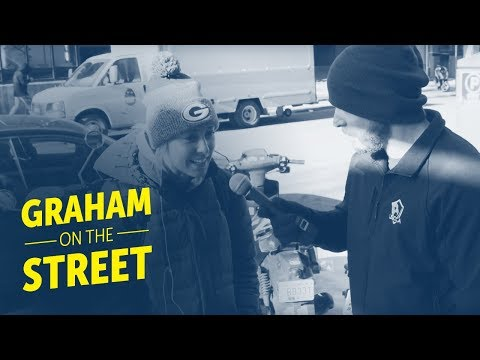 Graham On The Street: Gun Control In Madison, WI ft. The Daily Rants Guy