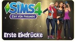 Die Sims 4: Zeit für Freunde! - Erste Eindrücke [CAS, Möbel, Gruppen & more]