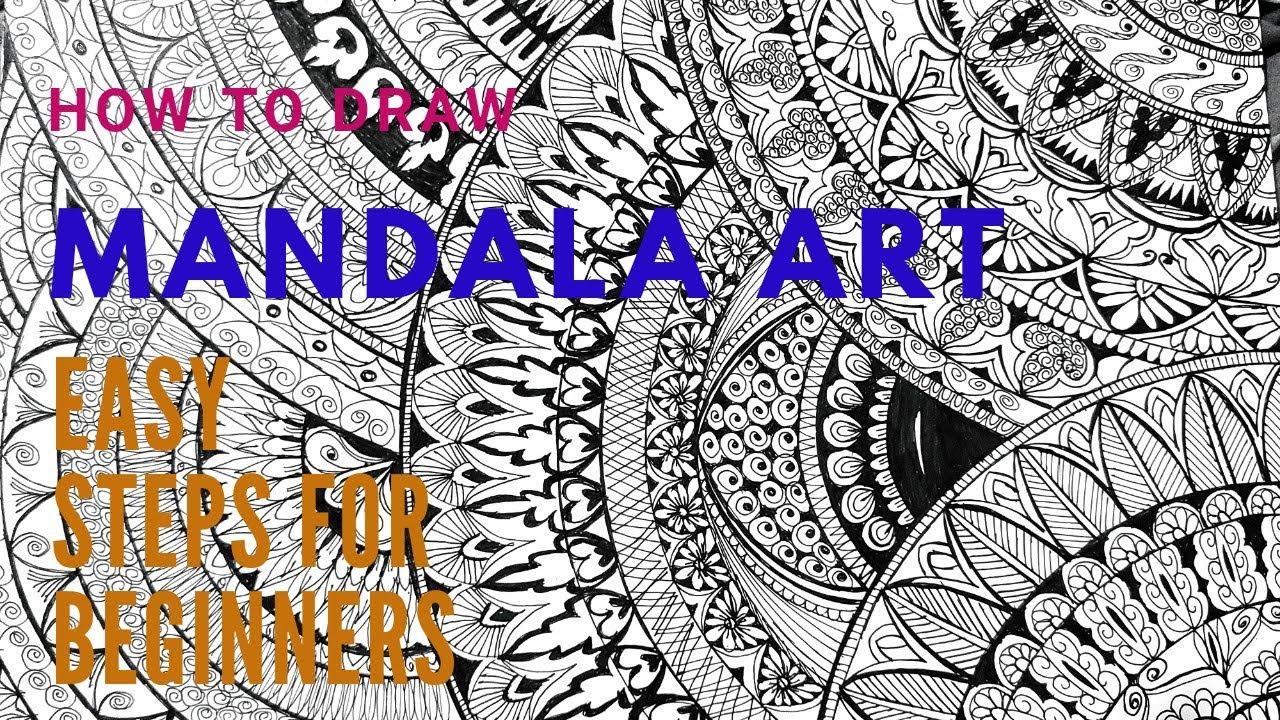 Step By Step Pro Mandala Art Part - 2   Mandala Art Special Designs   MY Painting World