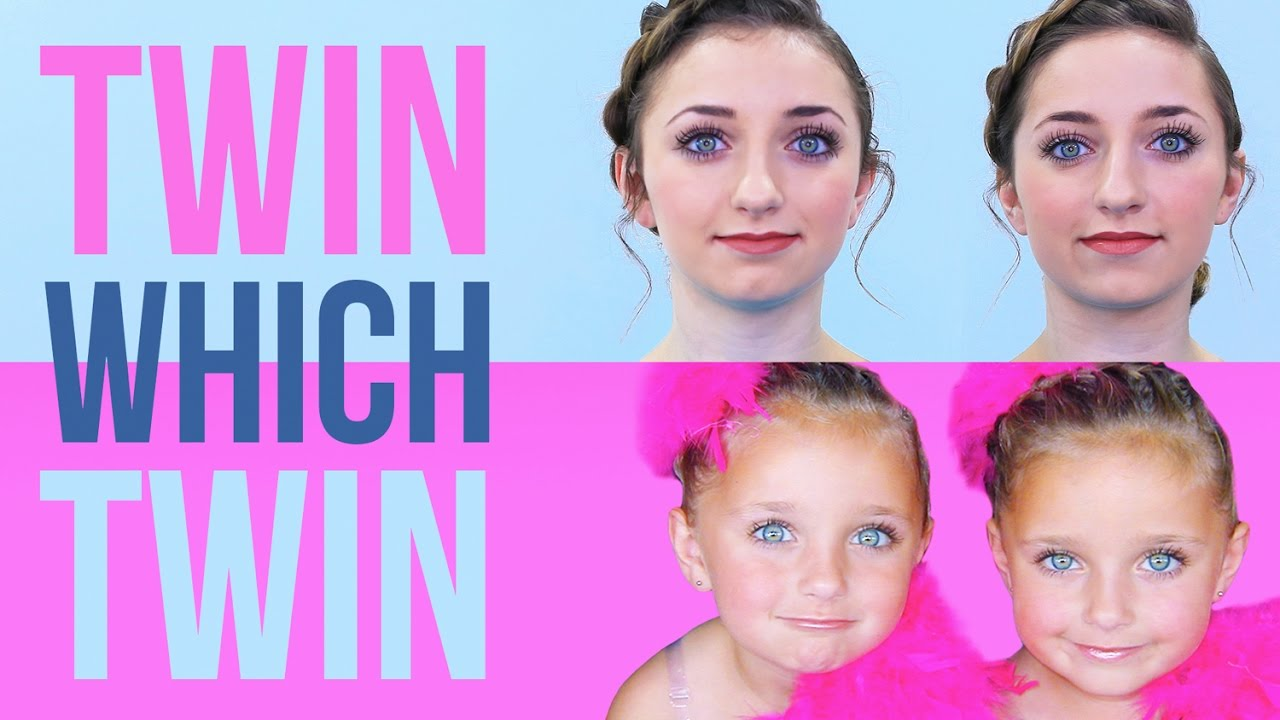 twin which twin challenge guess the baby pictures youtube