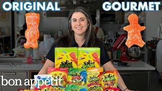 Pastry Chef Attempts to Make Gourmet Sour Patch Kids | Gourmet Makes | Bon Appétit Video