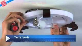 Ferretotal - ¿Cómo instalar una lámpara tipo plafón?